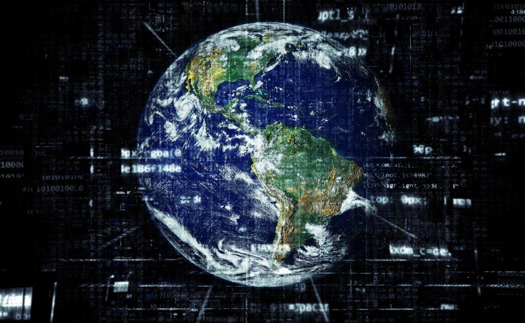 planète terre et géolocalisation